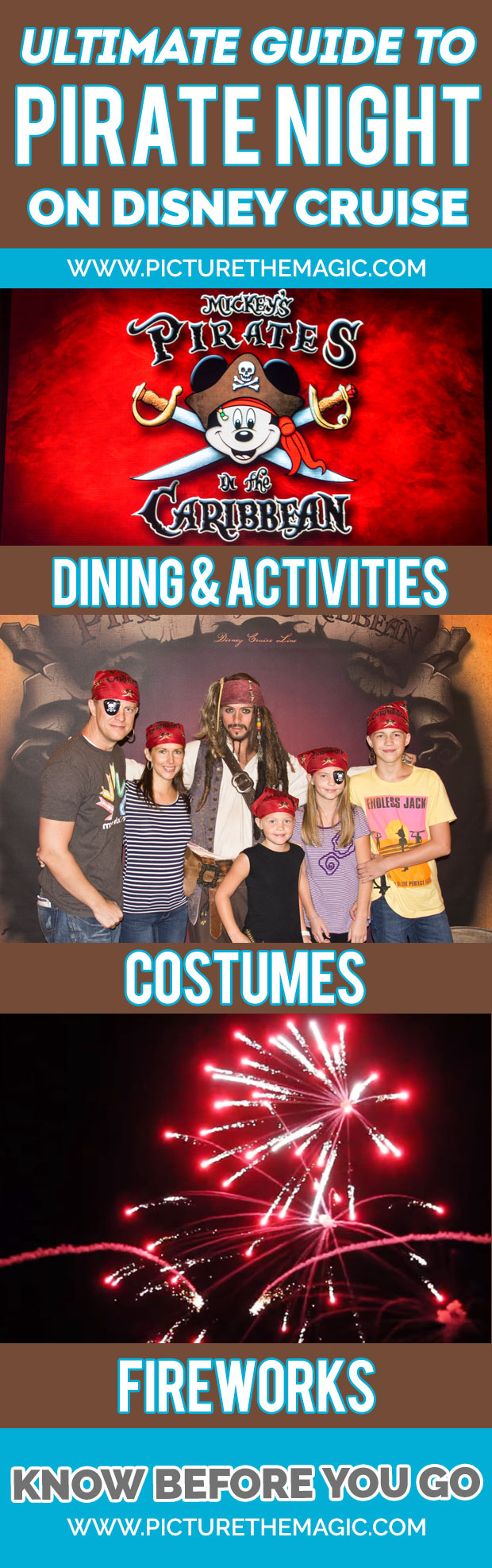 The Ultimate Guide to Disney Cruise Pirate Night!