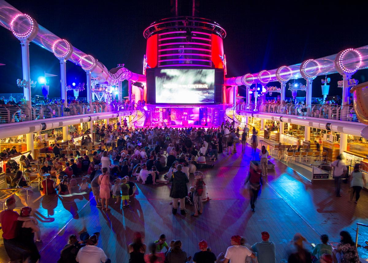 When is Pirate Night on a Disney Cruise?