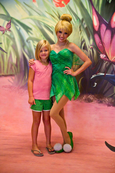 Tinkerbell: Magical Moments on a Disney Cruise!