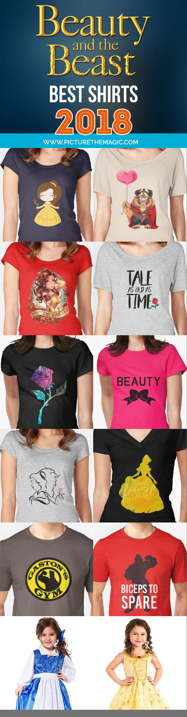 Over 100 of the year's best, funniest, and most EPIC Beauty and the Beast Shirts available. All of our favorites, all in one place.