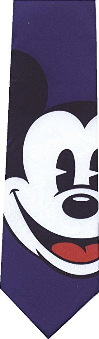 Mickey Mouse Necktie Formal Night