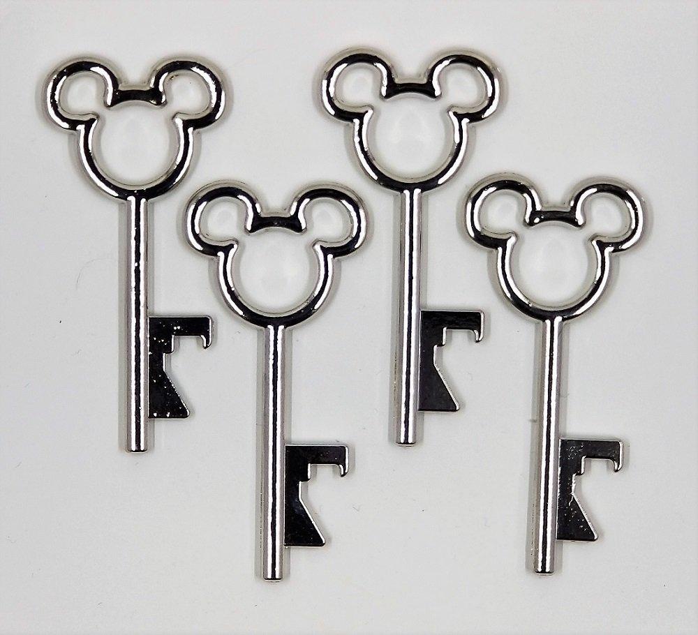 Mickey Mouse Skeleton Key Bottle Opener Fish Extender