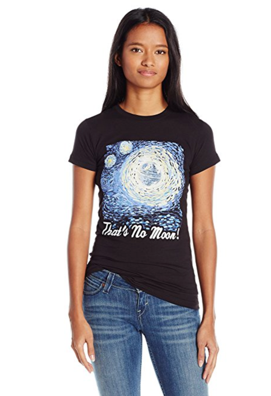 That's No Moon: Star Wars T-Shirt for Women