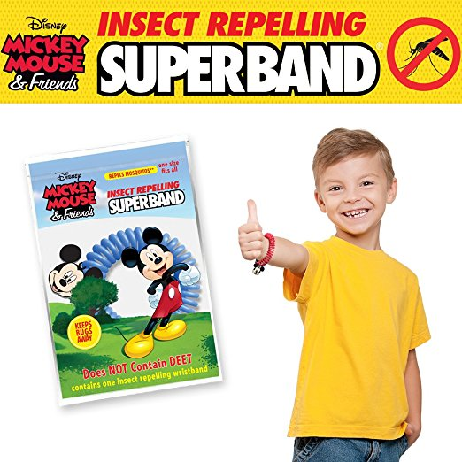 Mickey Mouse Superband Insect Repelling