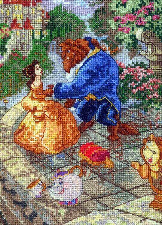 Best Thomas Kinkade Disney Cross Stitch