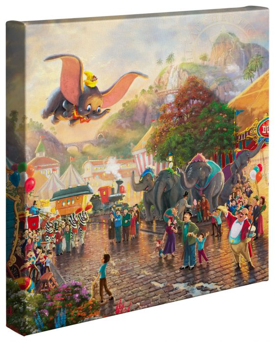 Dumbo: Thomas Kinkade Disney Print