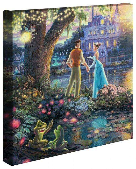 The Princess and the Frog: Thomas Kinkade Disney Print