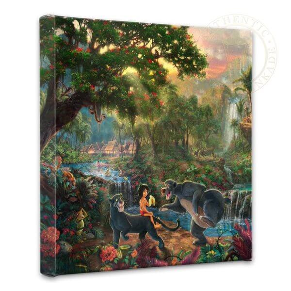 The Jungle Book: Thomas Kinkade Disney Print