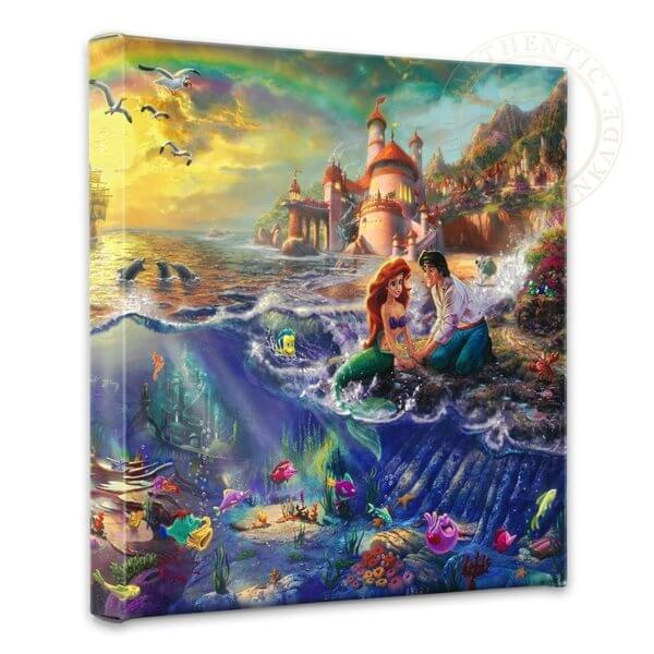 Mermaid Gifts Mermaid Decor Mermaid Art Print Mother S: Best Of Thomas Kinkade Disney (April 2019) Buyer's Guide