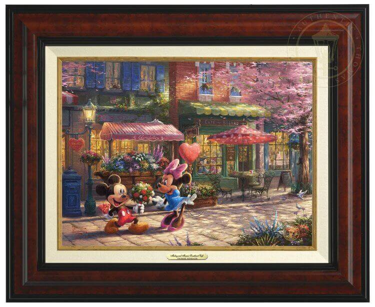 Best Thomas Kinkade Disney Paintings