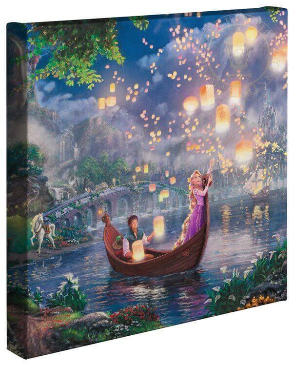Best Thomas Kinkade Disney Paintings by Movie