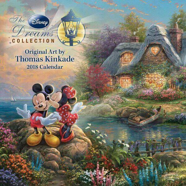 Best Thomas Kinkade Disney Calendars