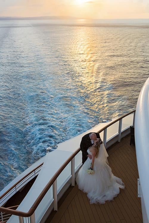 Dreamy! Get married on a Disney Cruise.