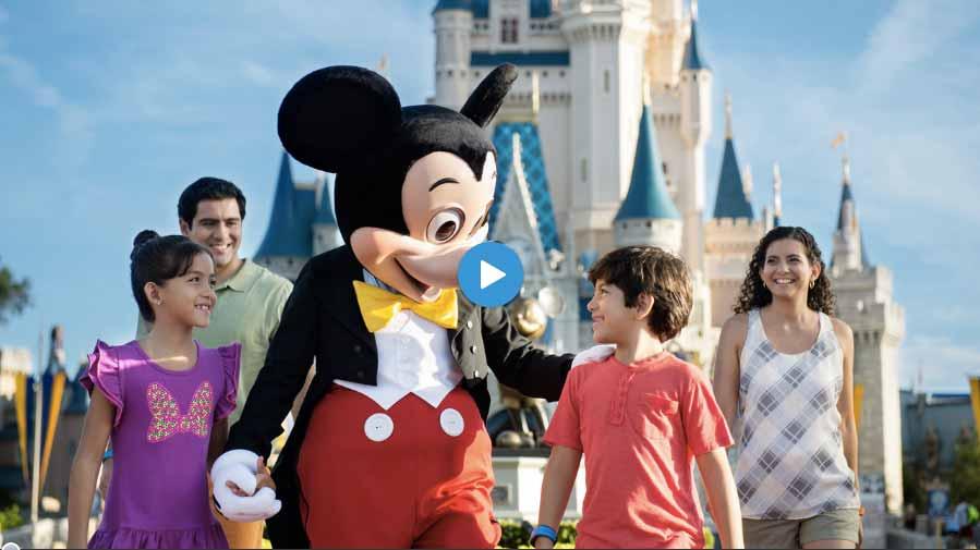 Watching Free Disney Parks DVD