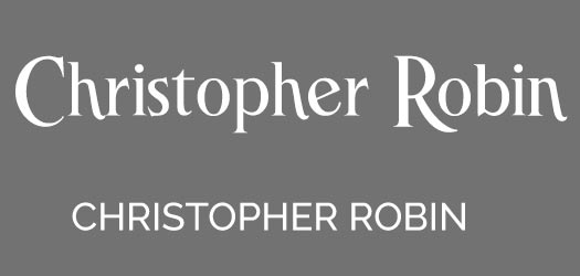 Free Christopher Robin Font