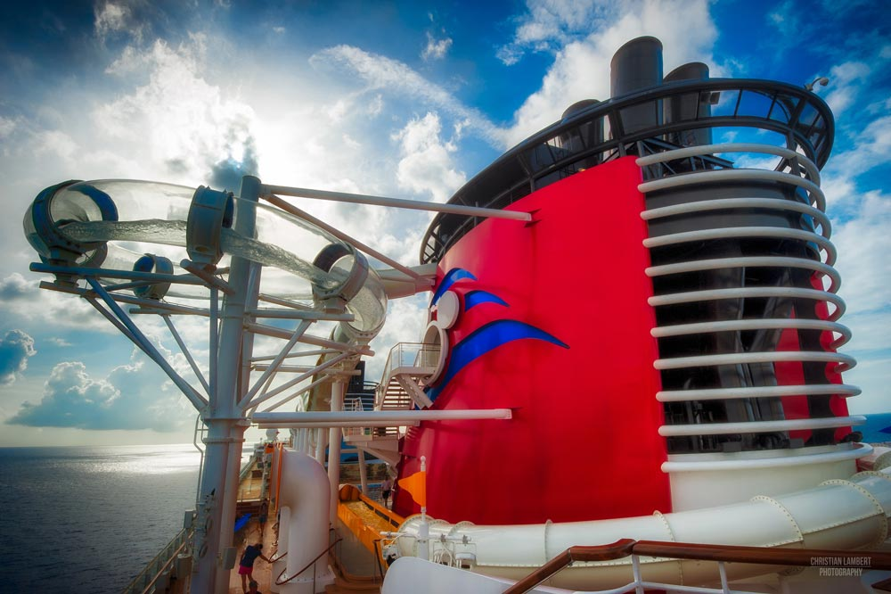 AquaDuck on Disney Dream Cruise Ship