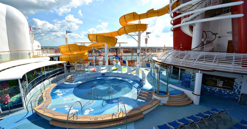 AquaLab Disney Wonder Cruise Ship