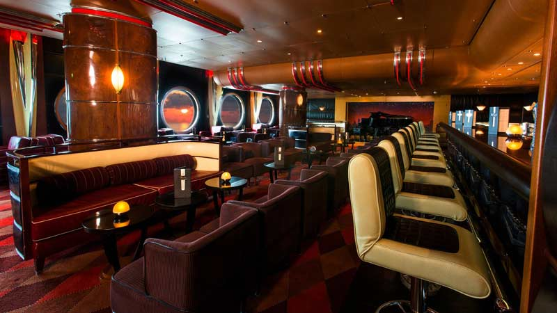 Cadillac Lounge on the Disney Wonder
