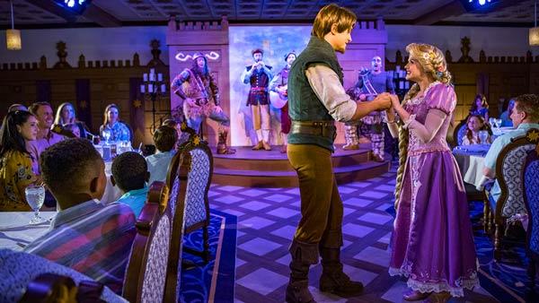 Rapunzel Royal Table Restaurant on Disney Magic Cruise Ship