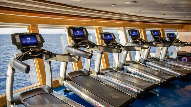 Disney Wonder: Fitness Center