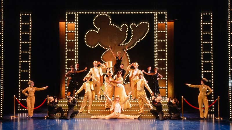 The Golden Mickeys on Disney Wonder Cruise Ship