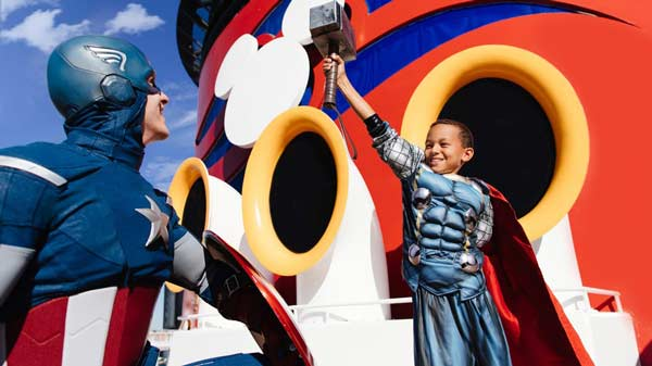 Disney Magic: Marvel Day at Sea
