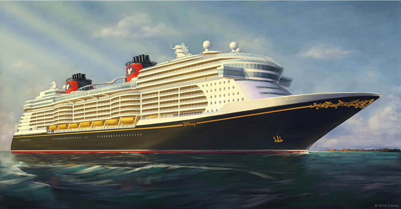 New Disney Cruise Ships are coming! This is what they will look like