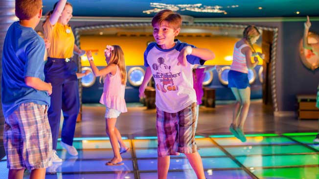Disney Wonder Oceaneer Club & Lab for ages 3-12