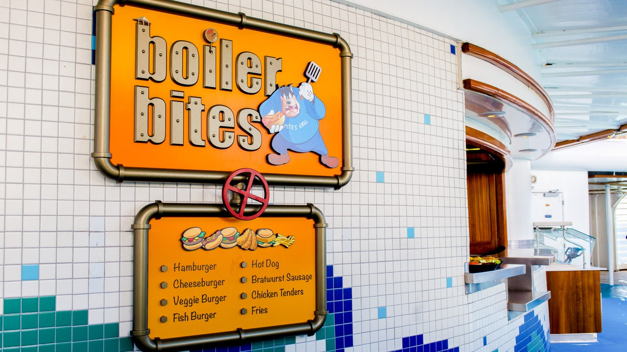 Disney Wonder Pete's Boiler Bites