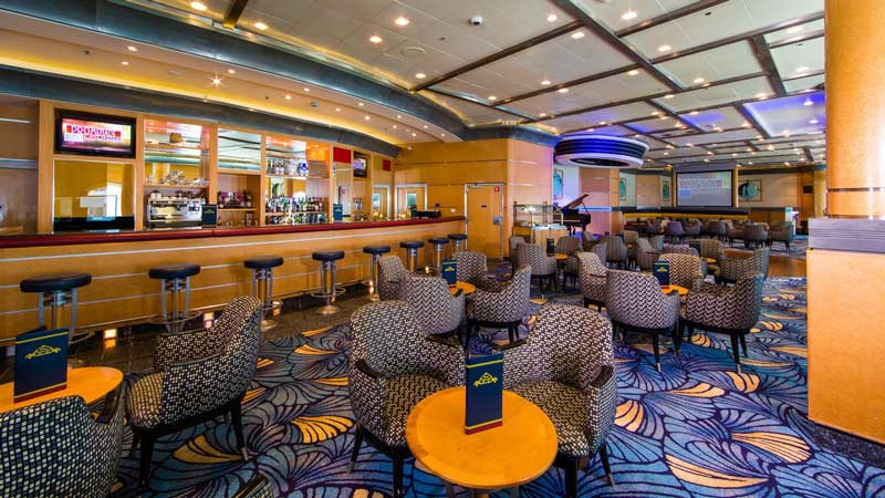 Promenade Lounge on Disney Wonder