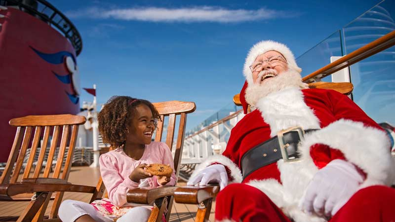 Christmas & Halloween Parties on Disney Wonder