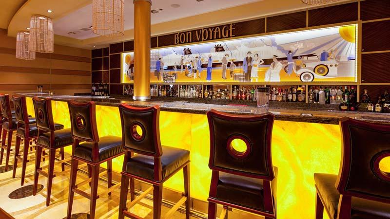Bon Voyage Bar on the Disney Fantasy