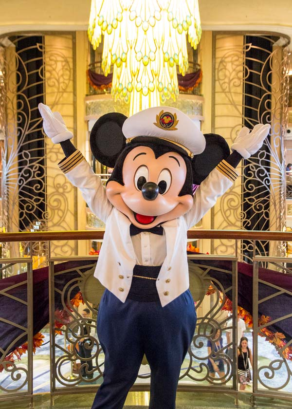 Meet and Greet Characters on Disney Fantasy