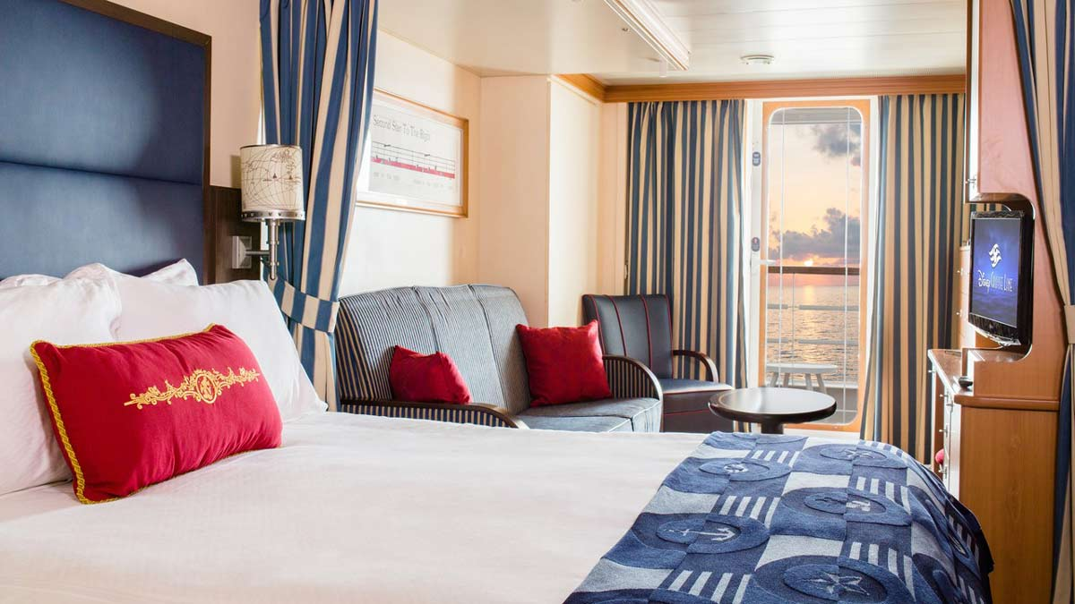 Disney Magic & Disney Wonder Stateroom Options