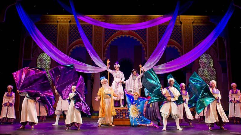Aladdin the Musical on Disney Fantasy Cruise Ship