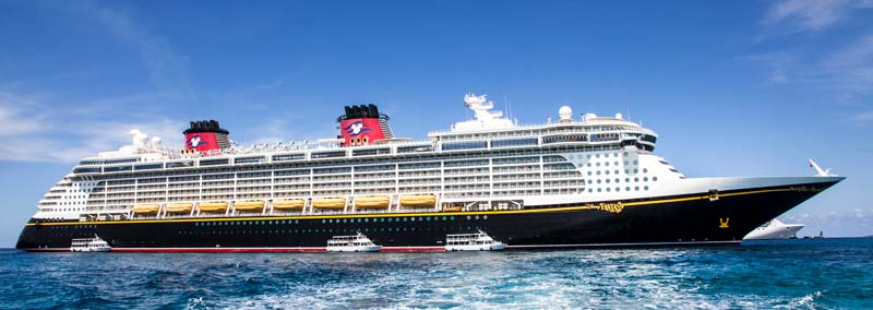 Disney Fantasy Ports of Call - Docked at Grand Cayman Island
