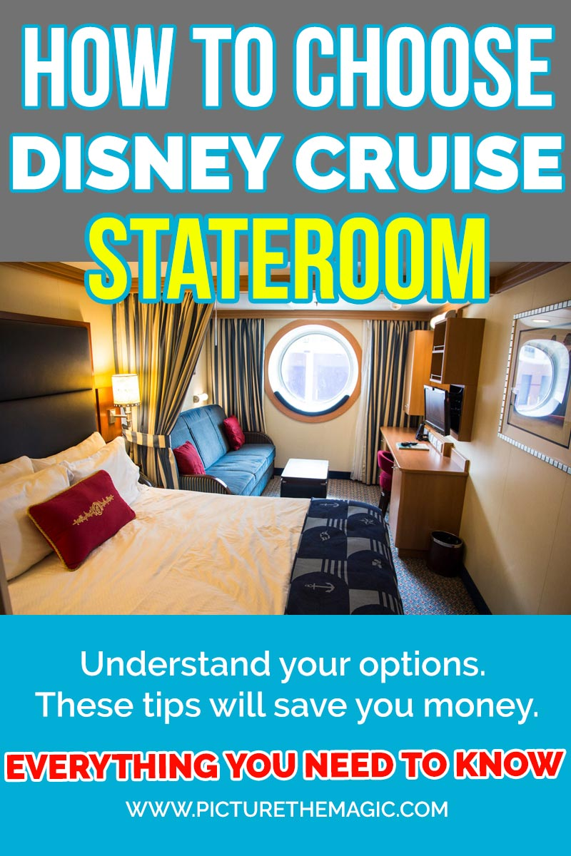How to Pick the Perfect Stateroom for your Disney Cruise