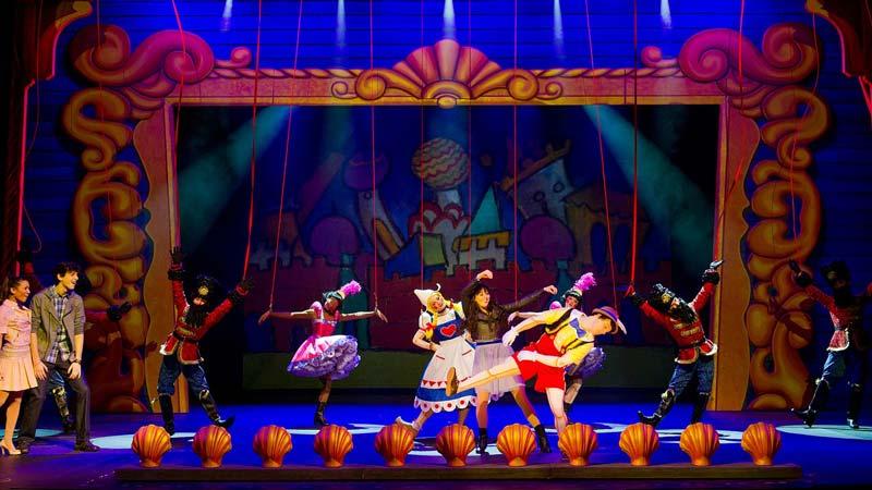 Disney Wishes - shown on Disney Fantasy cruise ship