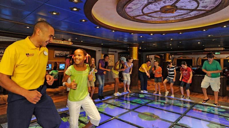 Disney Fantasy Oceaneer Club & Lab for ages 3-12