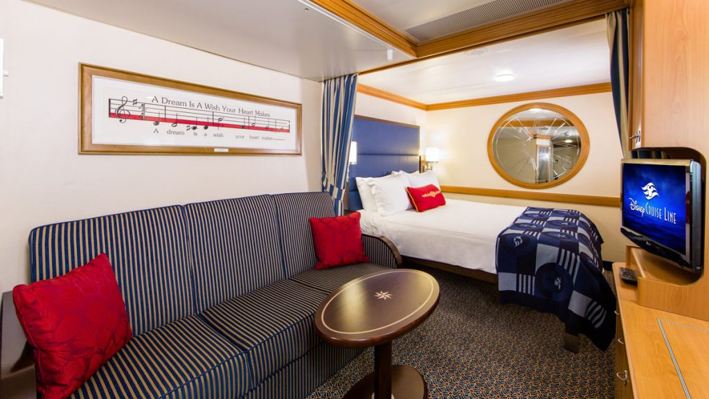 Disney Magic & Disney Wonder (Standard Inside Stateroom)