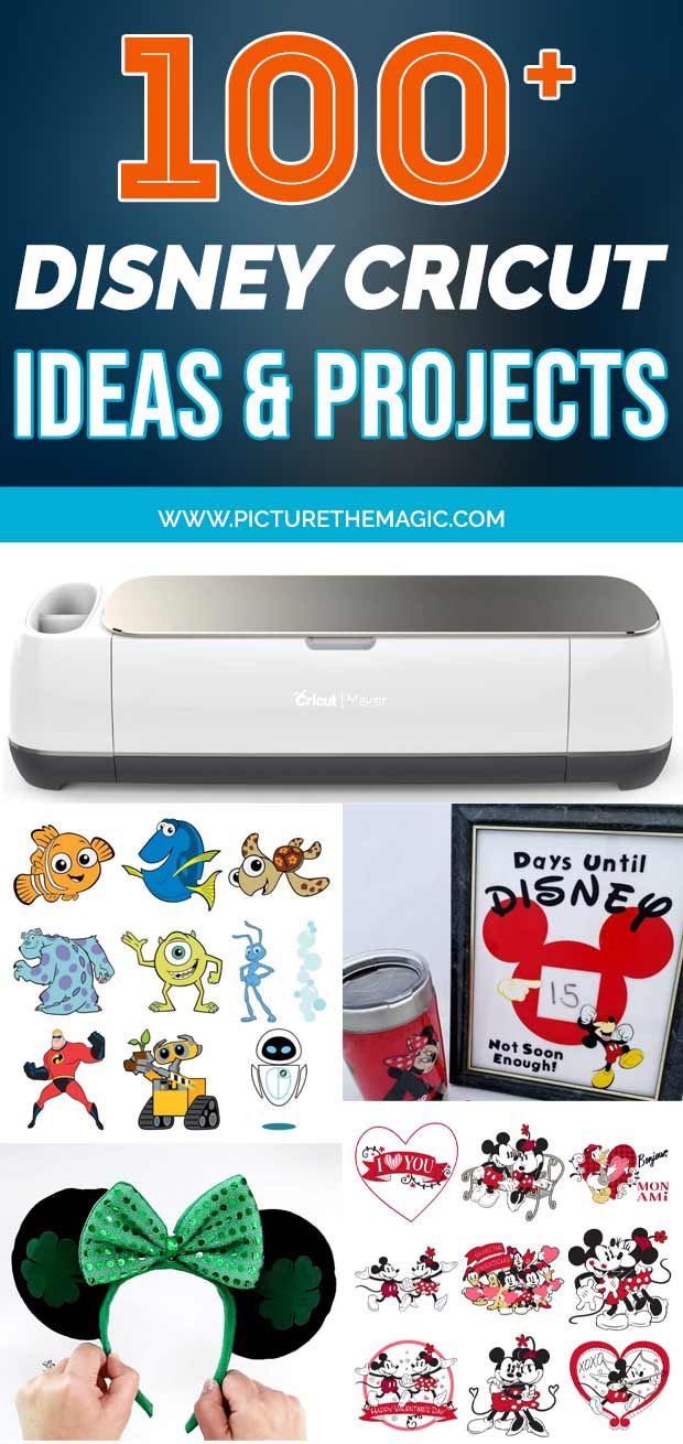 100 Disney Cricut projects, ideas, tutorials, and deals. Get inspired to create some magic!