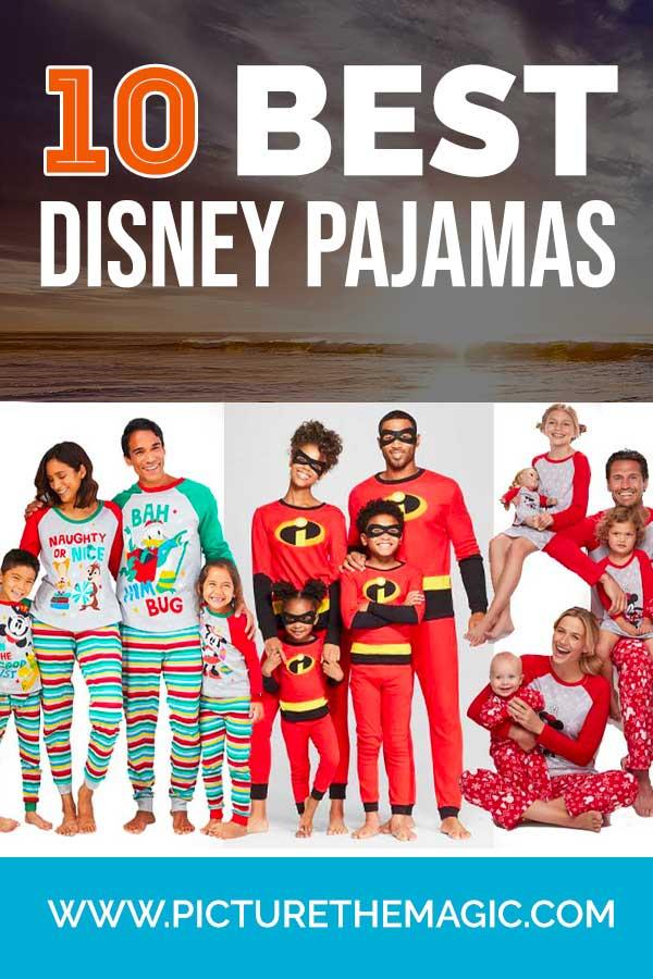 10 Photo-Worthy Matching Disney Pajamas for Christmas