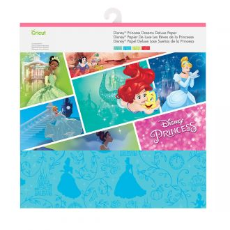 Disney Cricut Paper, Princess Dreams