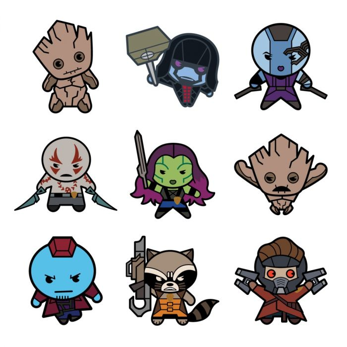 Marvel Guardians of the Galaxy Kawaii Digital Cartridge