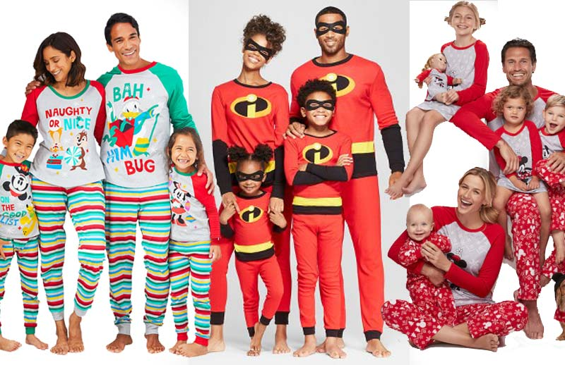 12 Photo Worthy Matching Disney Pajamas for Christmas 2020