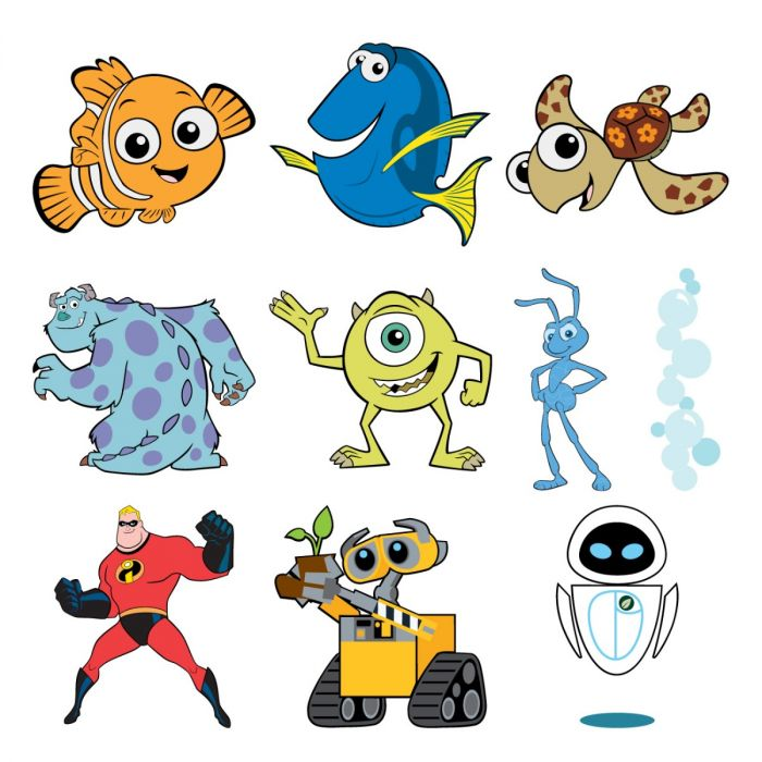 Best of Pixar Digital Set Cricut Cartridge