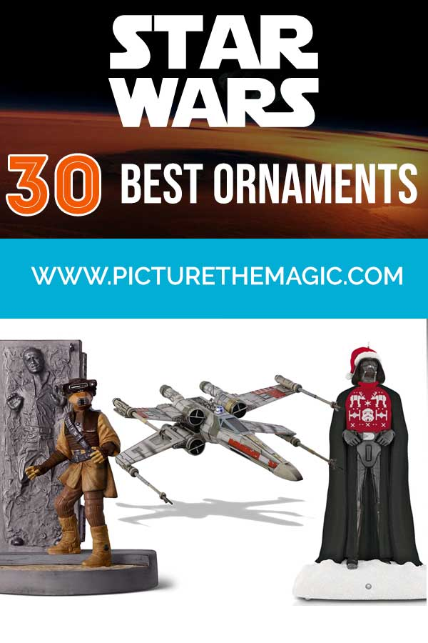 30 Best Star Wars Christmas Ornaments #starwars #christmas #ornaments #yoda #darthvader