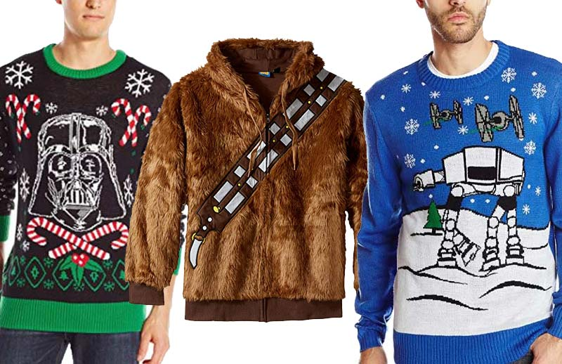 Official Star Wars Wampa Christmas Jumper//Ugly Sweater