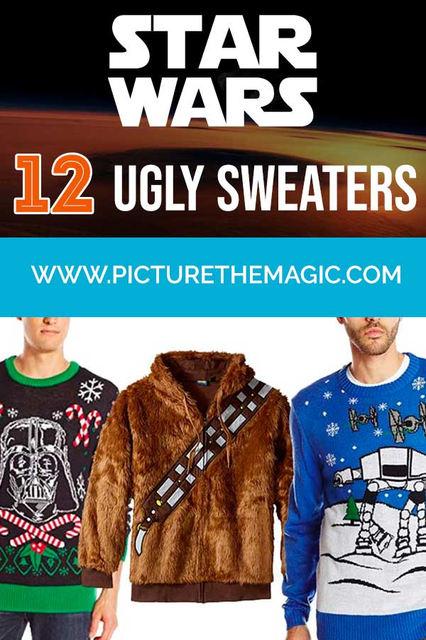12 Star Wars Ugly Christmas Sweaters to Rock at Your 2018 Holiday Party