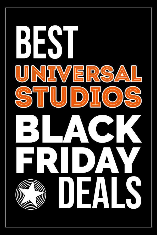 All the Universal Studios Black Friday deals!